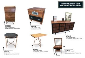 Night Table/Cabinet