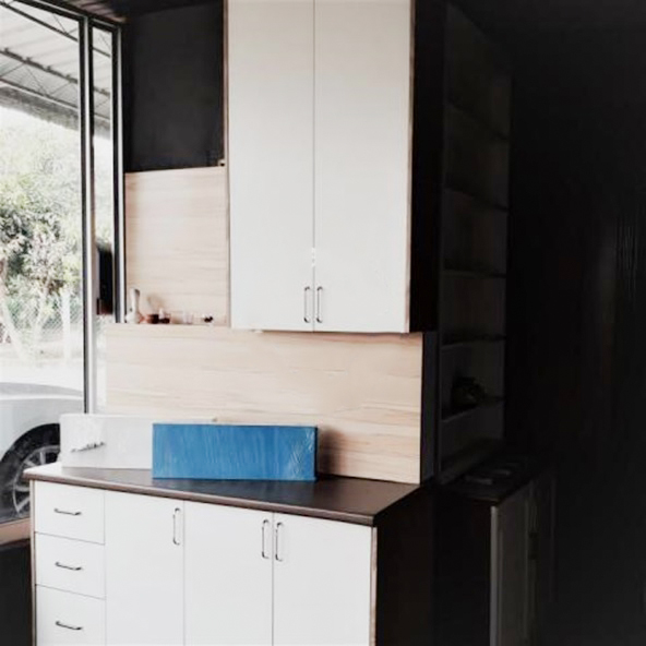 Melamine Mini Cabinet 1